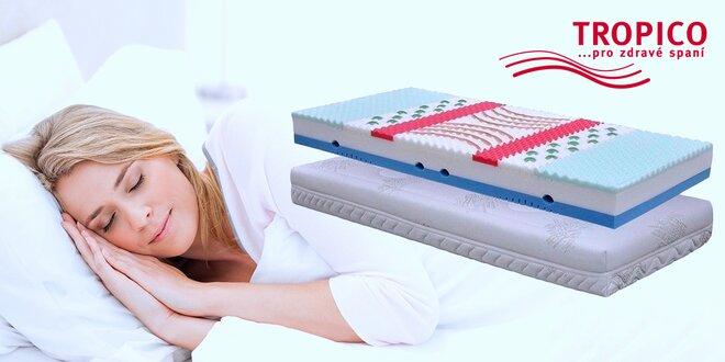 Komfortní matrace Tropico Geltech® s gelovými segmenty