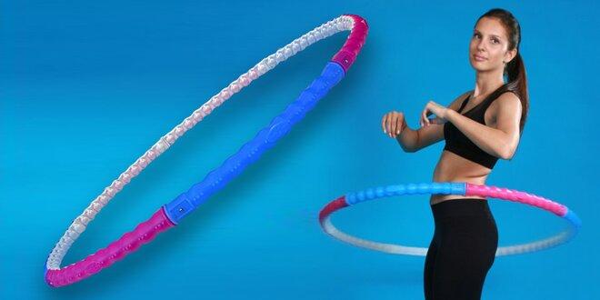 Masážní a cvičební obruč Hula hoop Health
