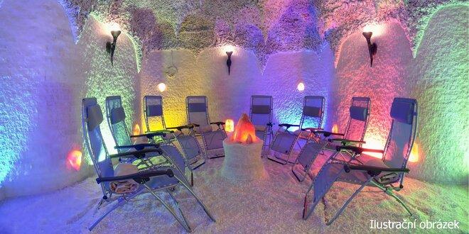 Privátní relaxace v solné jeskyni až pro 5 osob