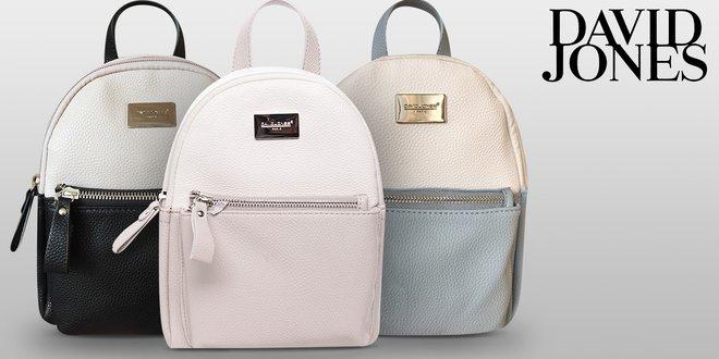 Elegantní dámské batohy David Jones do města