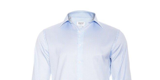 Pánská slim-fit košile na manžetové knoflíčky Vincenzo Boretti ... ce74581879