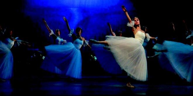 Vstupenka na slavný romantický balet Giselle