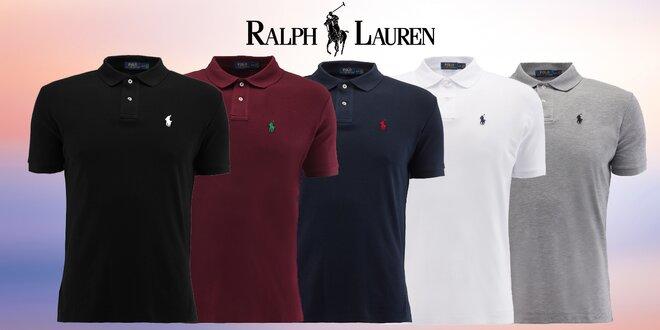 Pánské bavlněné polokošile Ralph Lauren