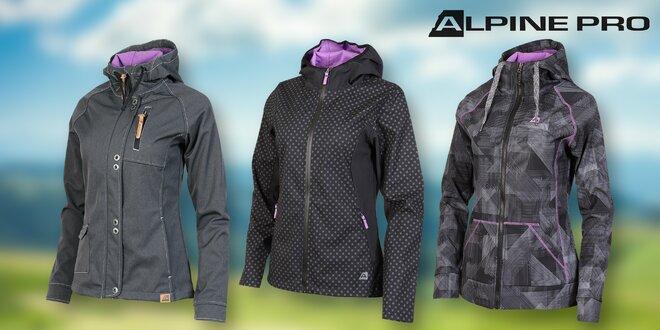 Dámské jarní softshellové bundy Alpine Pro  efcb354a3e