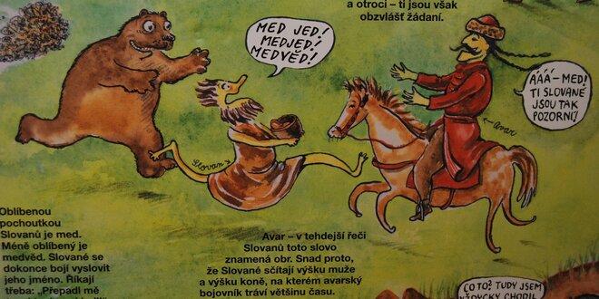 Vstupenka na výstavu: Dějiny udatného českého národa