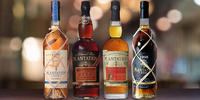 Delikátní rumy Plantation