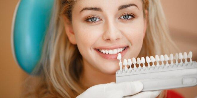 Bělení zubů a odstranění plaku pískováním