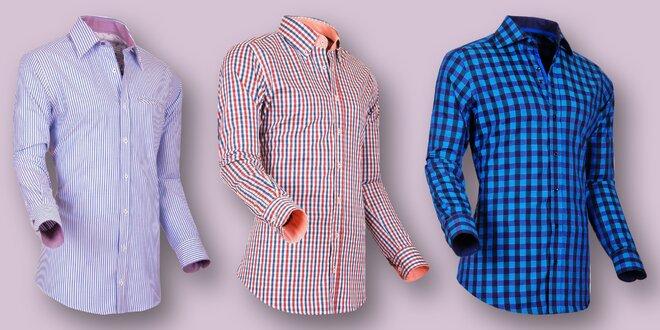 Pánské bavlněné košile Pontto