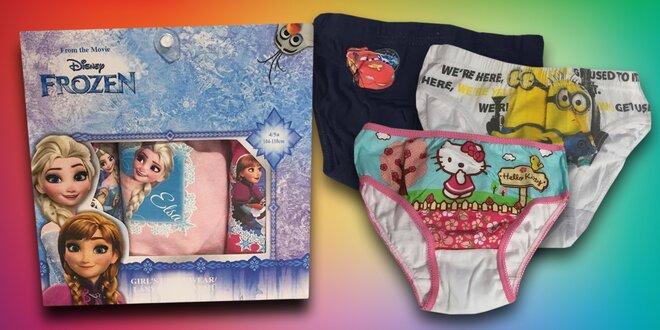 Dětské licenční spodní prádlo