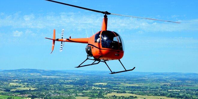 Vyhlídkový let vrtulníkem z Mladé Boleslavi