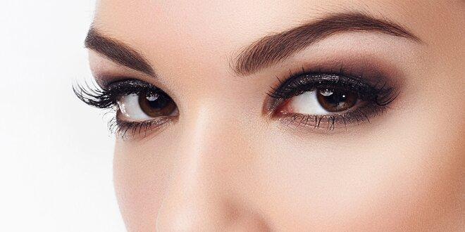 Permanentní make-up očních linek