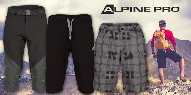 Pánské 3/4 kalhoty a šortky Alpine Pro