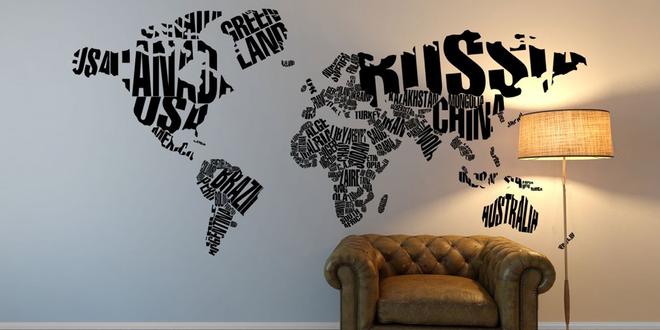 Samolepky na zeď v několika stylových motivech