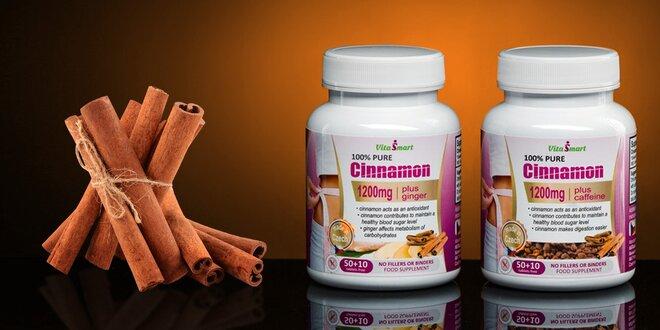 Skořicové tablety podporující spalování tuků