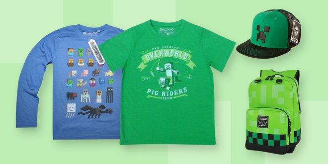 Dětská kolekce oblečení a doplňků Minecraft