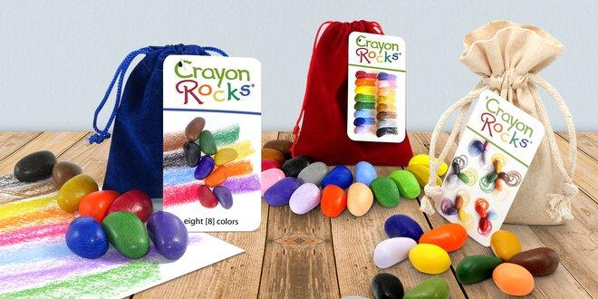 Pastelky? Nuda! Kreativní děti se učí kreslit barevnými kameny