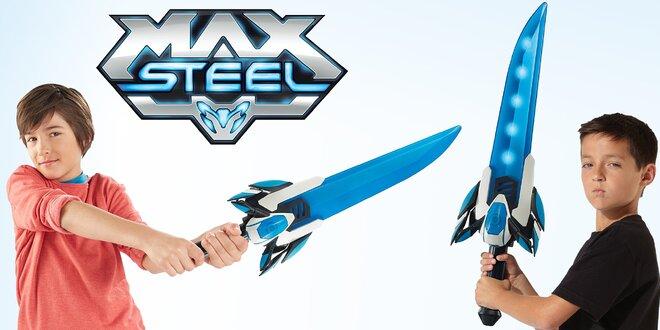 Max Steel: Svítící a mluvící meč + figurka