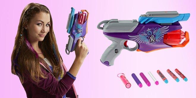NERF Rebelle: pistole se světlem a šifrováním
