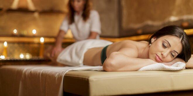 Blahodárná thajská masáž v Salonu Elite