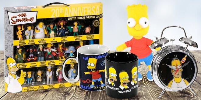 Oficiální kolekce The Simpsons - 21 bomba dárků pro malé i velké fanoušky