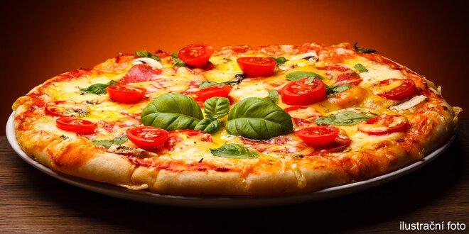 Ať vám to křupe: 2 pizzy ⌀ 32cm dle výběru