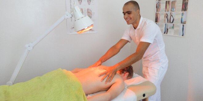 Masáž od profesionálních slabozrakých masérů
