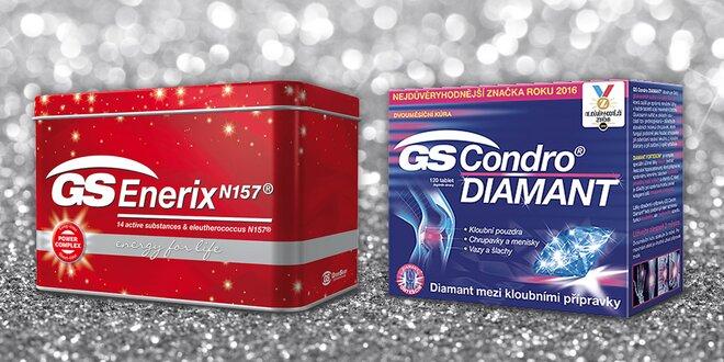 GS Condro na klouby a GS Enerix proti únavě