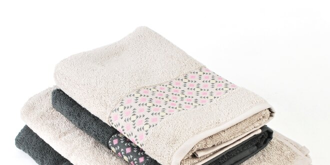 Měkoučké ručníky a osušky z bavlněného froté