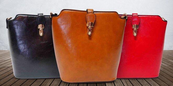 Elegantní dámské kabelky Amalia přes rameno