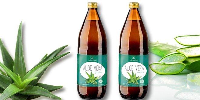 Allnature Premium Aloe Vera (2× 1000 ml)
