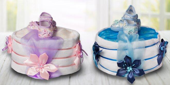 Plenkový dort pro nastávající maminky