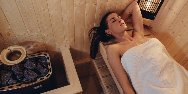 Hodinový wellness balíček se saunou a masáží