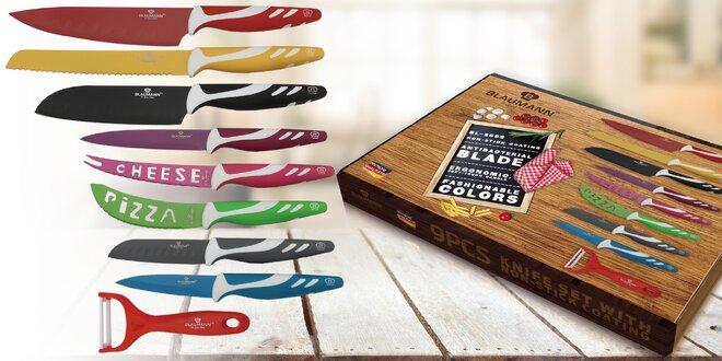 Sada nožů a škrabky v dárkové krabici Blaumann