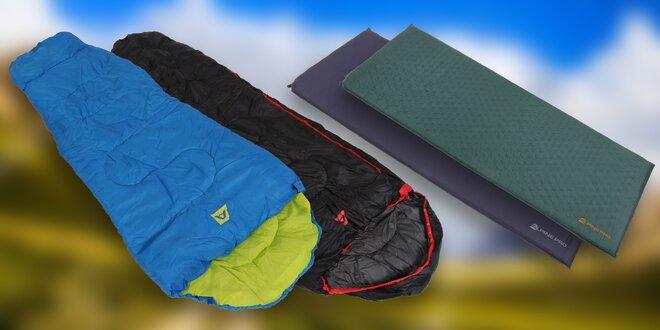 Spacáky a samonafukovací karimatky Alpine Pro