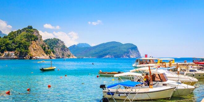 8 dní v přímořském letovisku v Černé Hoře