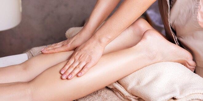Anticelulitidní masáž se zábalem z mořských řas