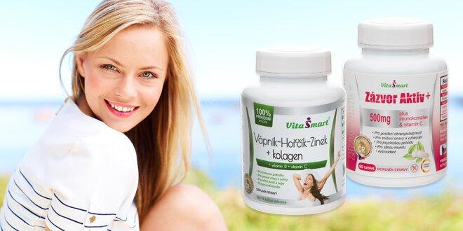 Zázvor Aktiv či minerály a vitamíny s kolagenem