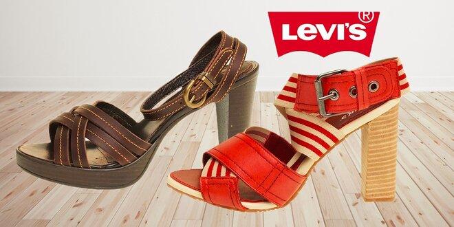Dámské letní boty Levi's I.