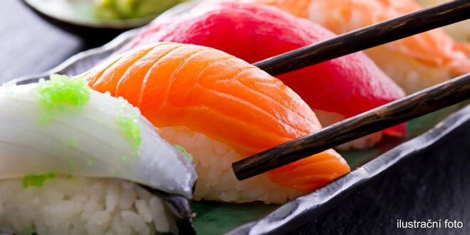 Prosím, nerušit: 28 kousků čerstvého sushi