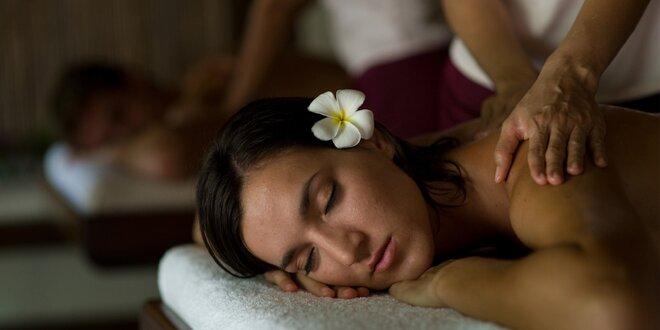 Dokonalá romantika: 60minutová párová masáž