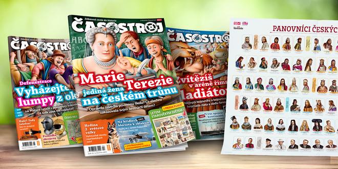 Roční předplatné dětského magazínu Časostroj 2017