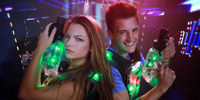 Laserová bitva v Mercuria Laser Game