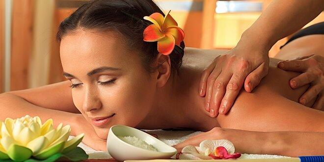 Luxusní havajská masáž Lomi Lomi - 90 minut