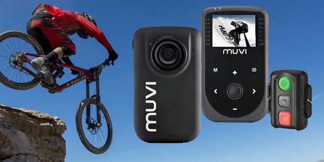 Outdoor HDkamera Muvi™ s bohatým příslušenstvím