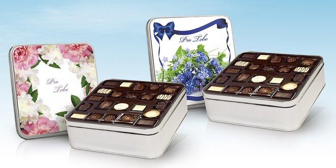 Belgické čokolády v dárkovém balení