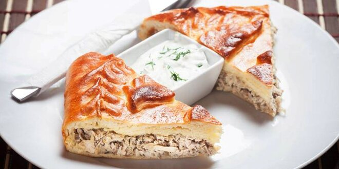 Slovanské menu pro 2: boršč a tradiční pirohy