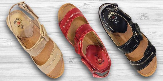 Pohodlné sandále Koka anatomicky tvarované