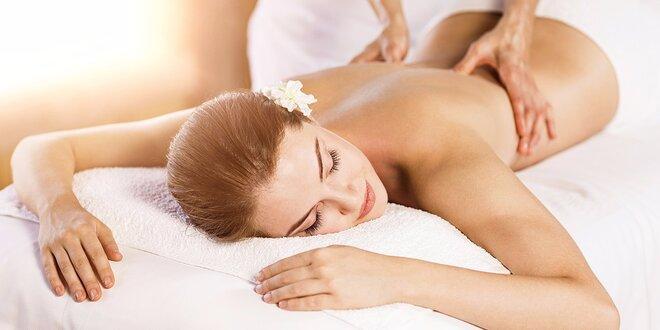 Dopolední masáž dle výběru