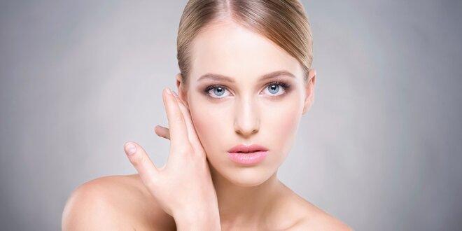 Kosmetické ošetření + diamantová dermabraze