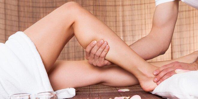 Úleva od oteklých nohou díky manuální lymfodrenáži
